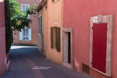 Itinéraire dans le Lubéron : Roussillon