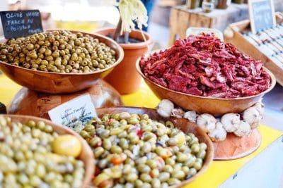 Marchés de Provence : Olives