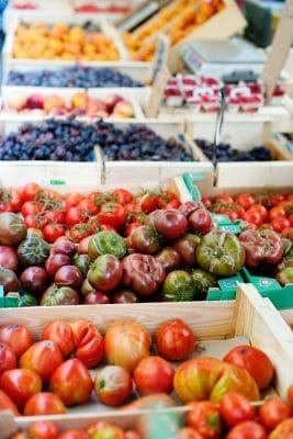 Marchés de Provence : Fruits et légumes