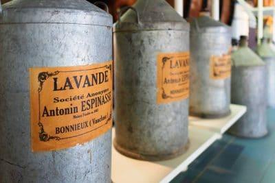Visite du musée de la lavande en Provence