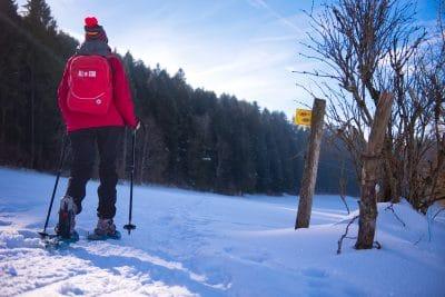 Randonnées raquette à Morteau dans le Haut Doubs