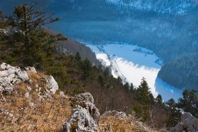 Paysage du Haut-Doubs sous la neige