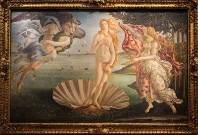 Visiter le musée des Offices à Florence : Botiticelli
