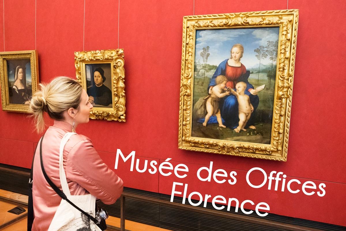 Coup de cœur : visiter le musée des Offices à Florence
