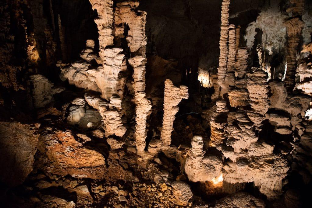 Grotte de l'Aven d'Orgnac en Ardèche