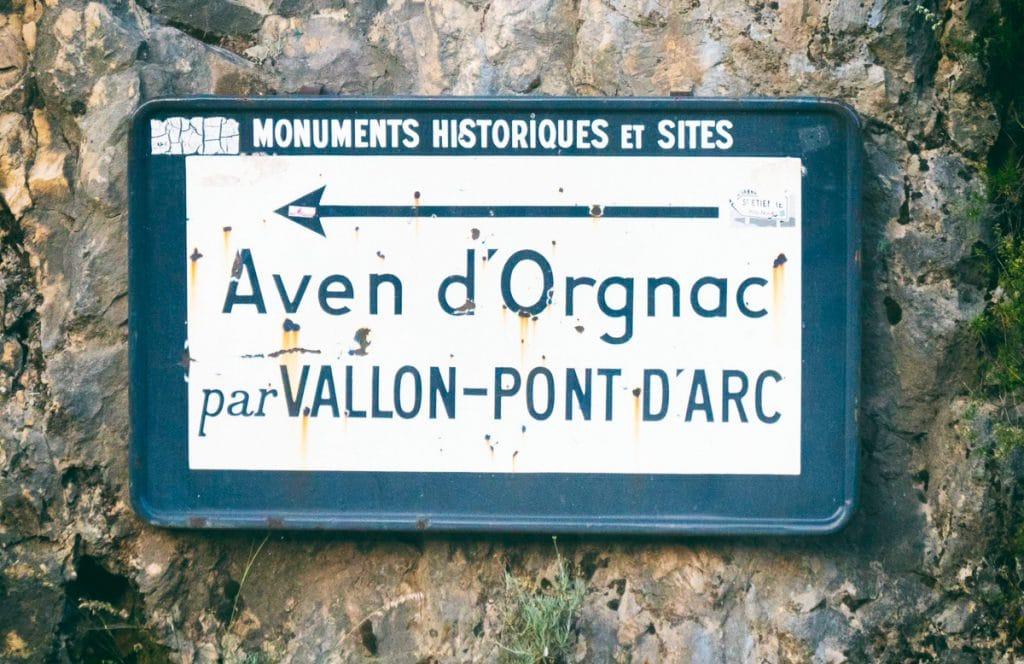 Visite des grottes d'Ardèche