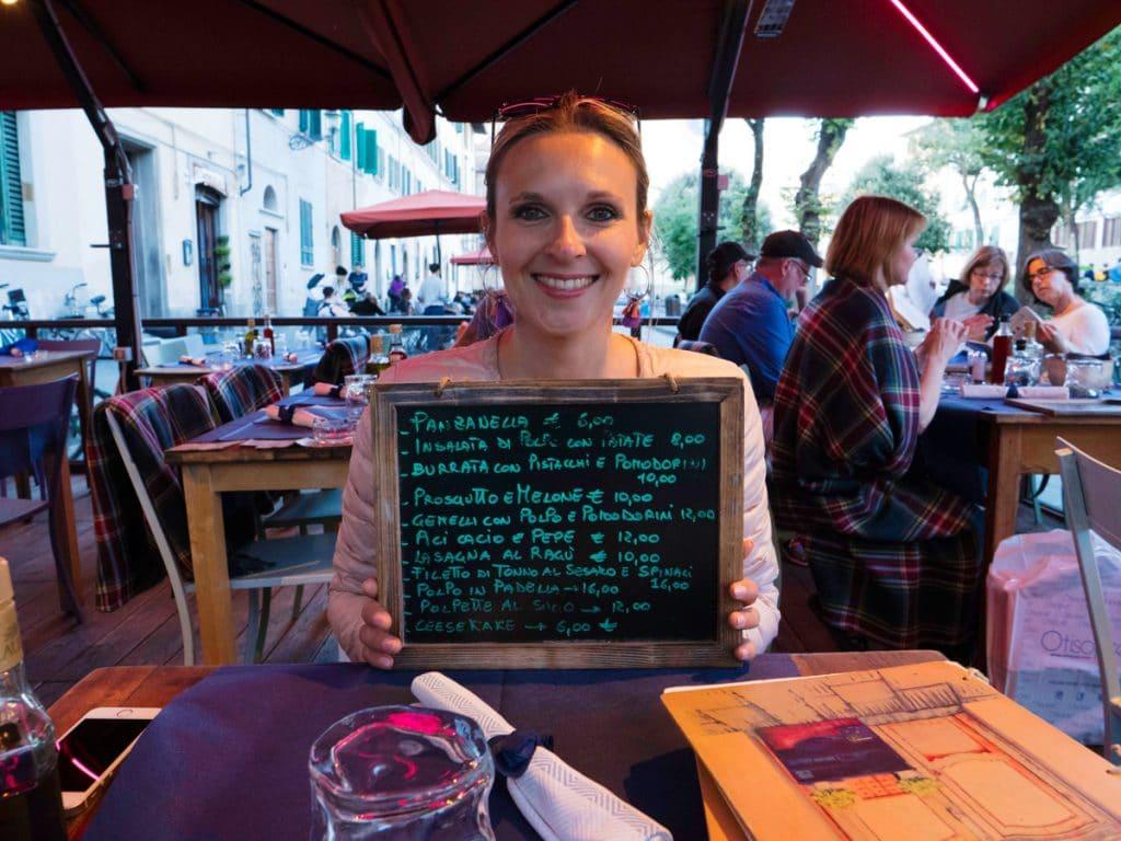 Où manger pas cher à Florence : Santo Spirito