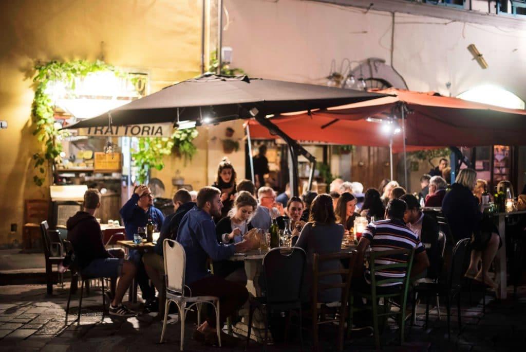Où manger pas cher à Florence : Quartier Santo Spirito