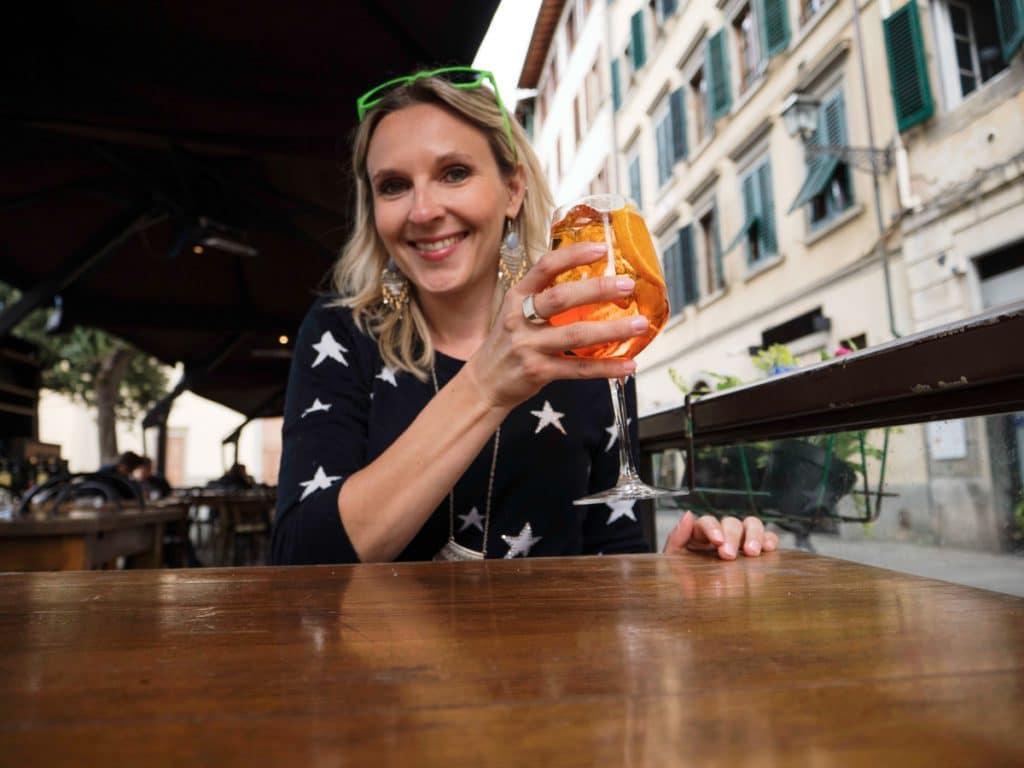Boire un Spritz à Florence