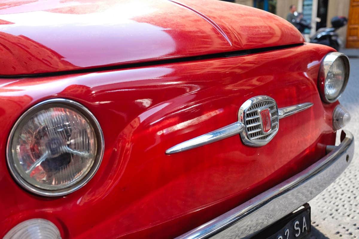 Florence : Fiat 500 Vintage