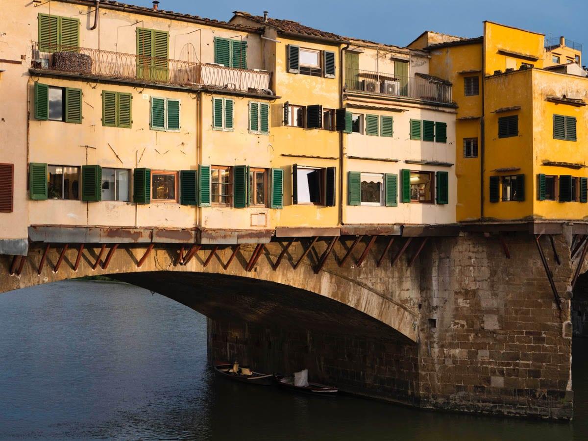 Visiter Florence : le Ponte Vecchio