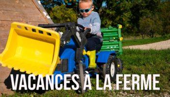 vacances en famille : séjour à la ferme