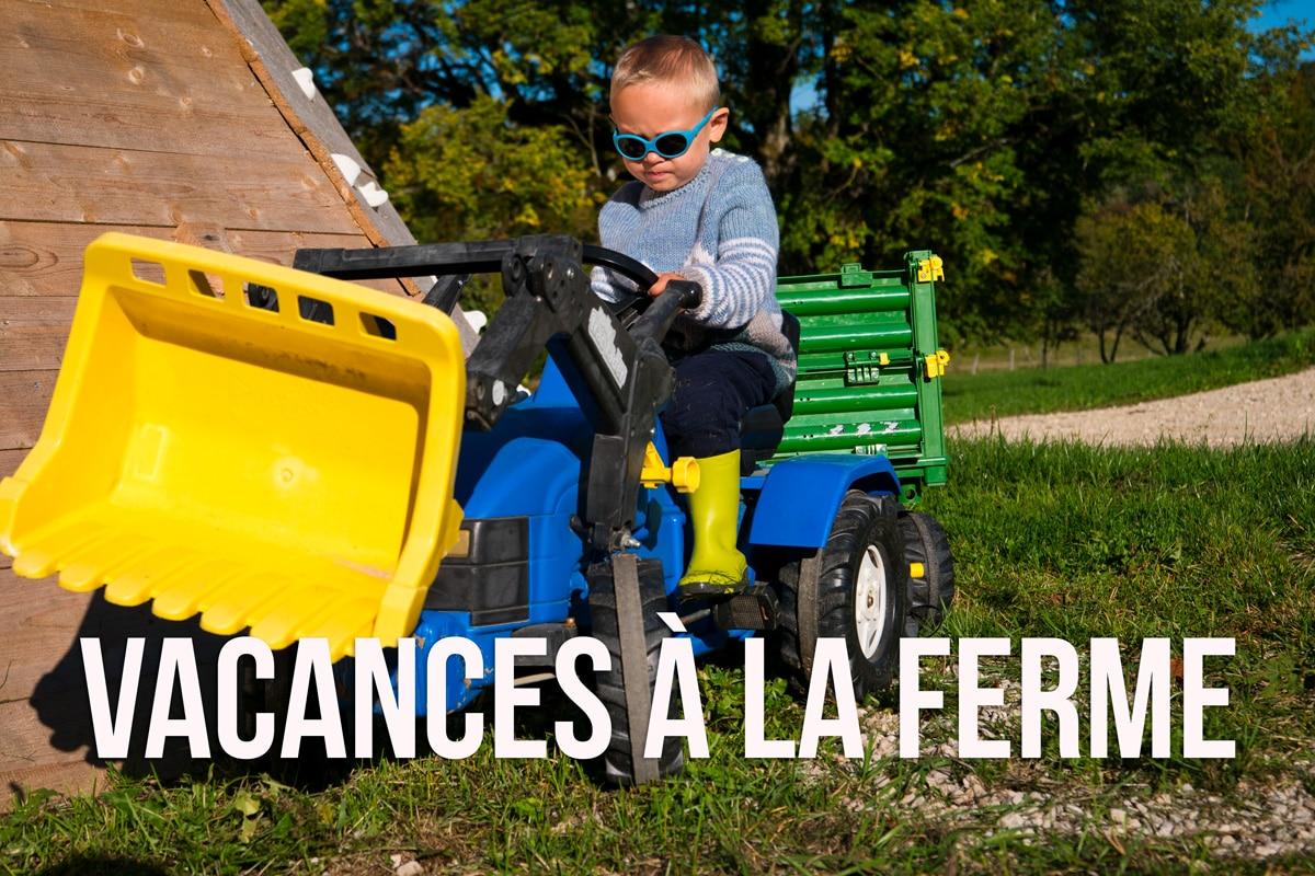 Ou partir avec un bébé de 2 ans: nos vacances à la ferme