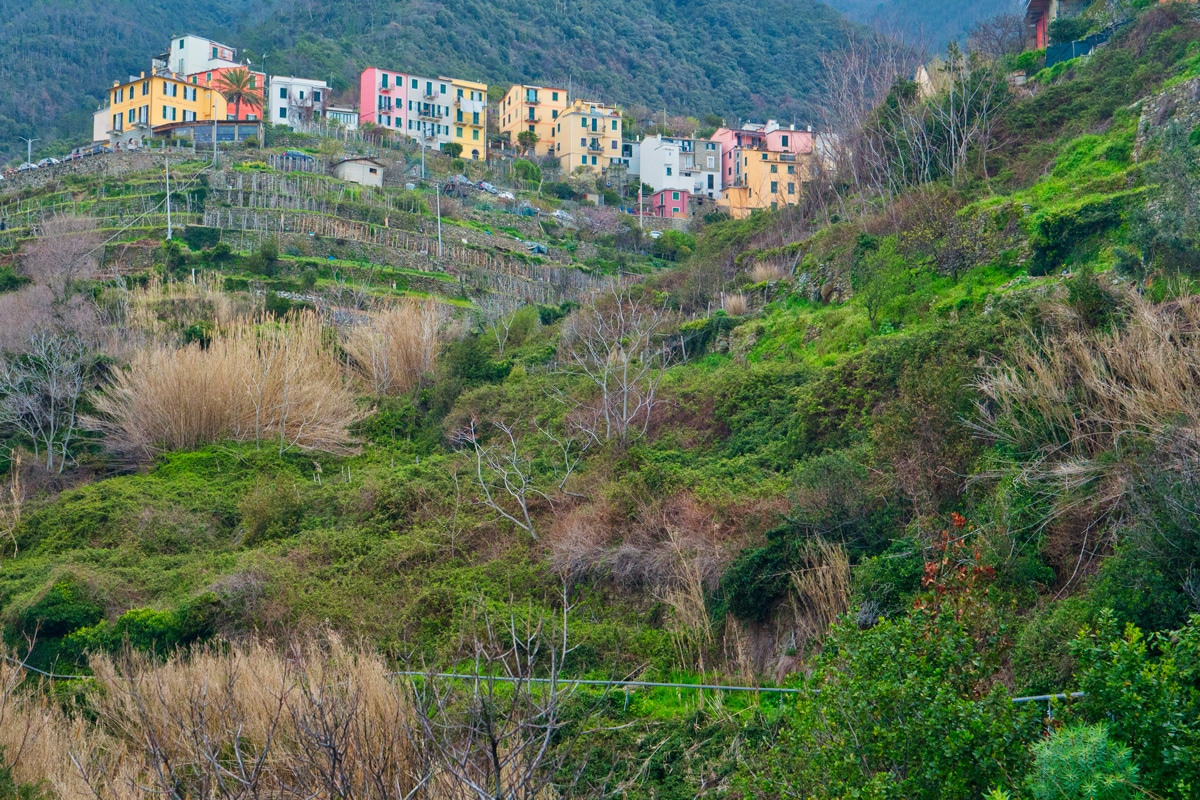 Corniglia dans les Cinque Terre en Italie