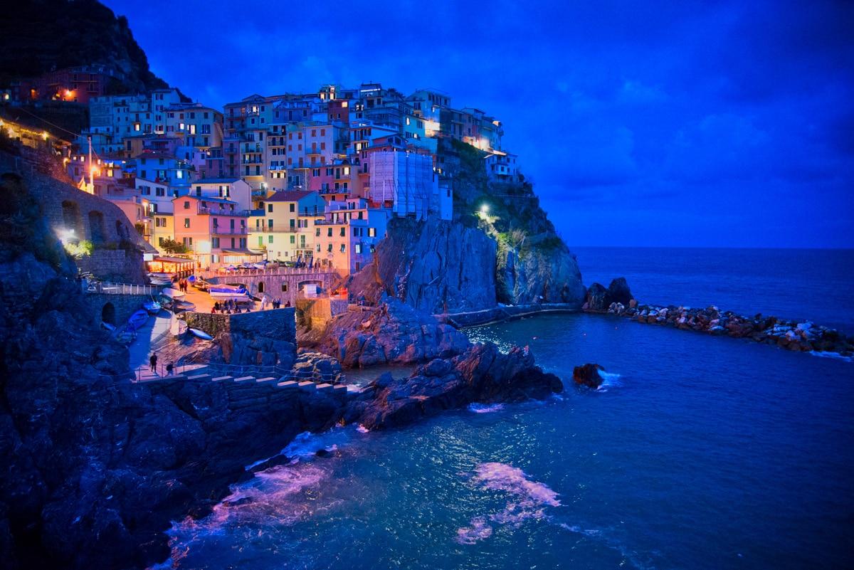 Manarola dans les Cinque Terre en Italie Ligurie