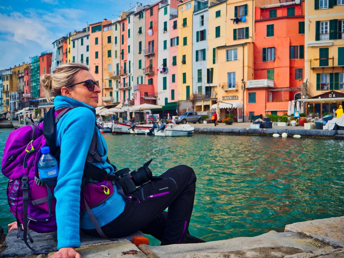 Portovenere près des Cinque Terre en Italie Ligurie