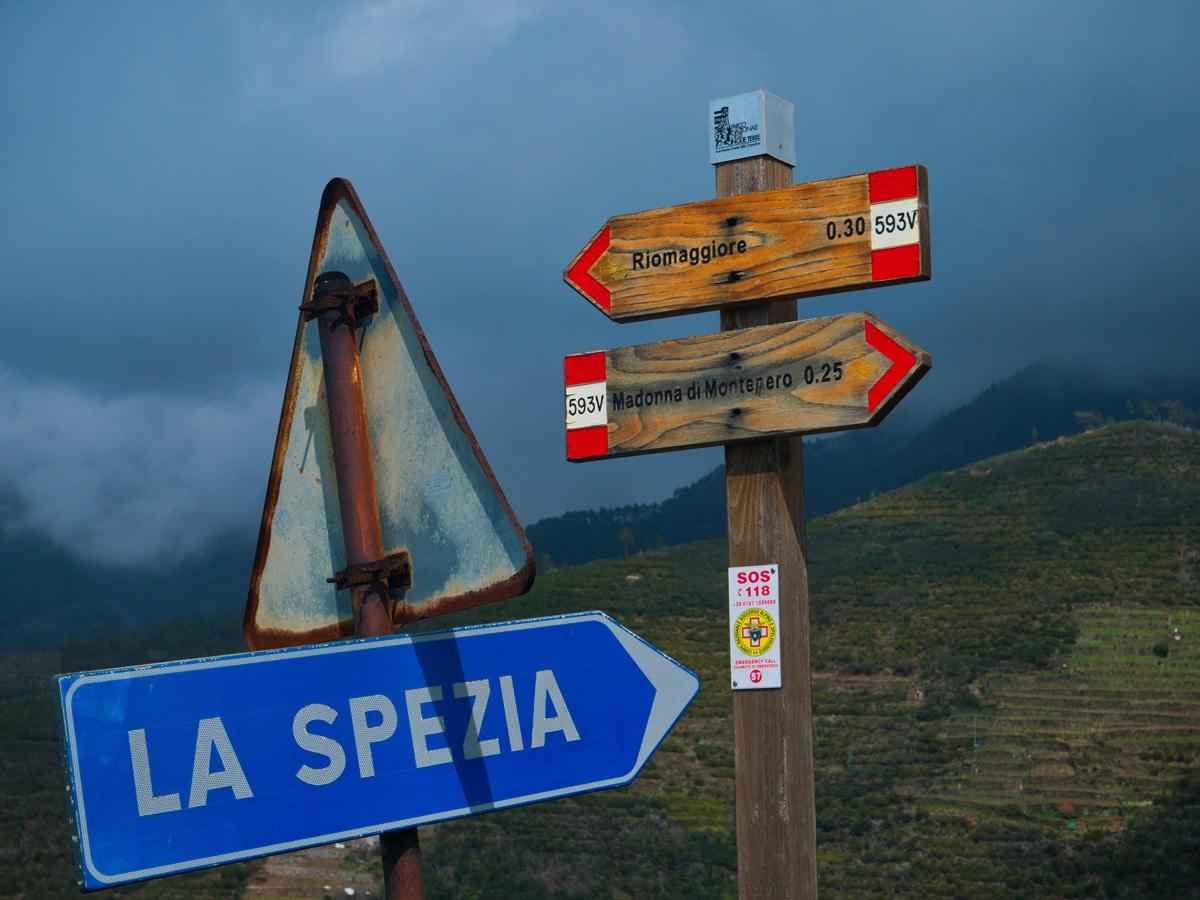 Se déplacer dans les Cinque Terre , Italie Ligurie