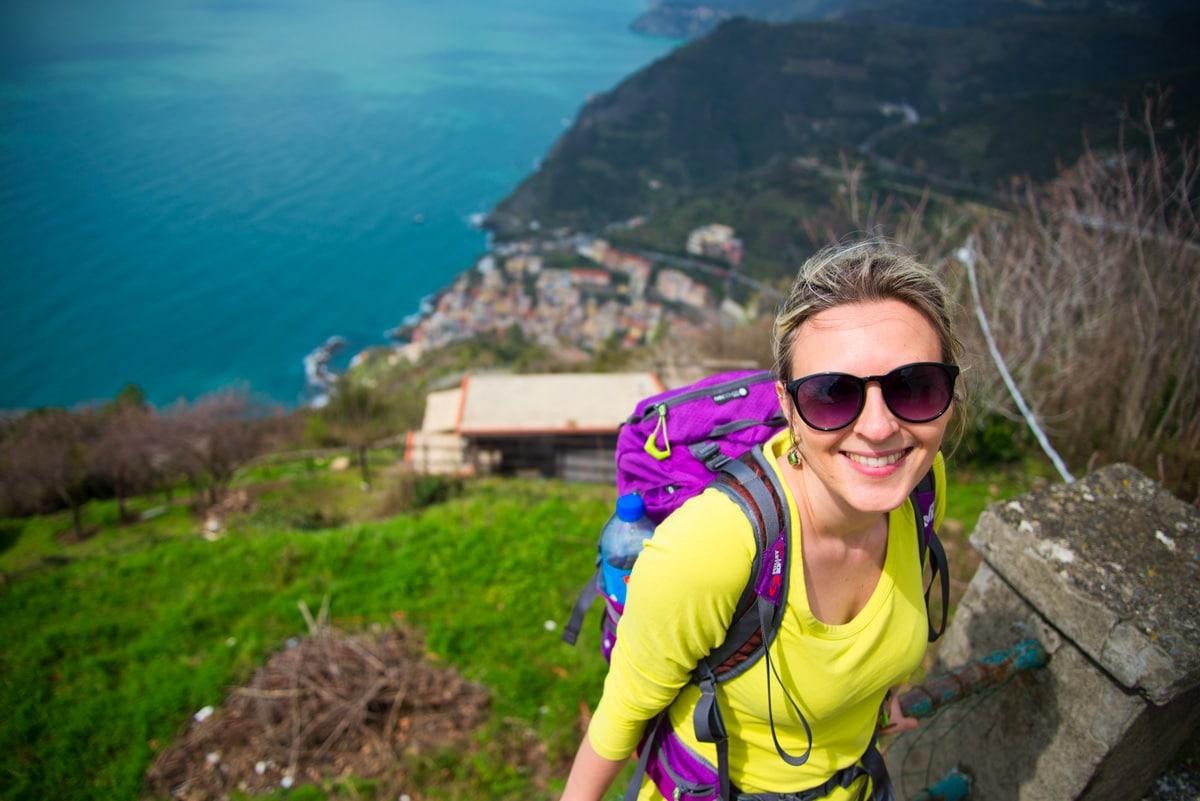 Randonnée dans les Cinque terre, Italie Ligurie