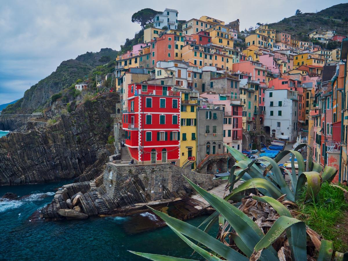 Riomaggiore das les Cinque Terre en Itallie Ligurie