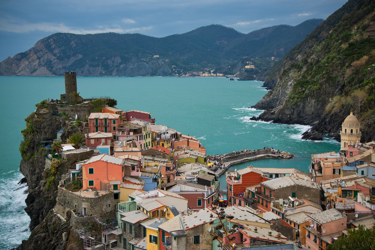Vernazza dans les Cinque Terre, italie