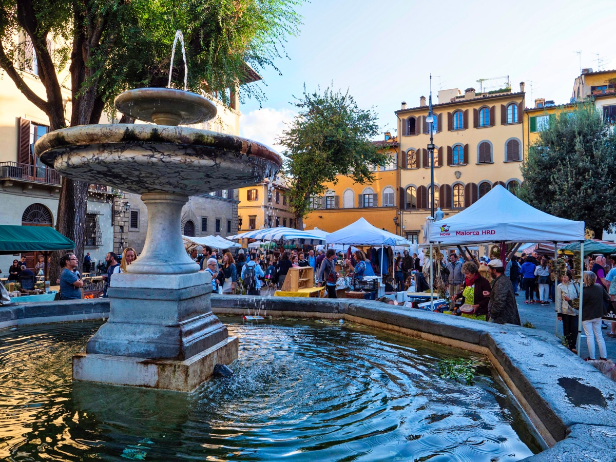 Quatre de l'Oltrarno à Florence