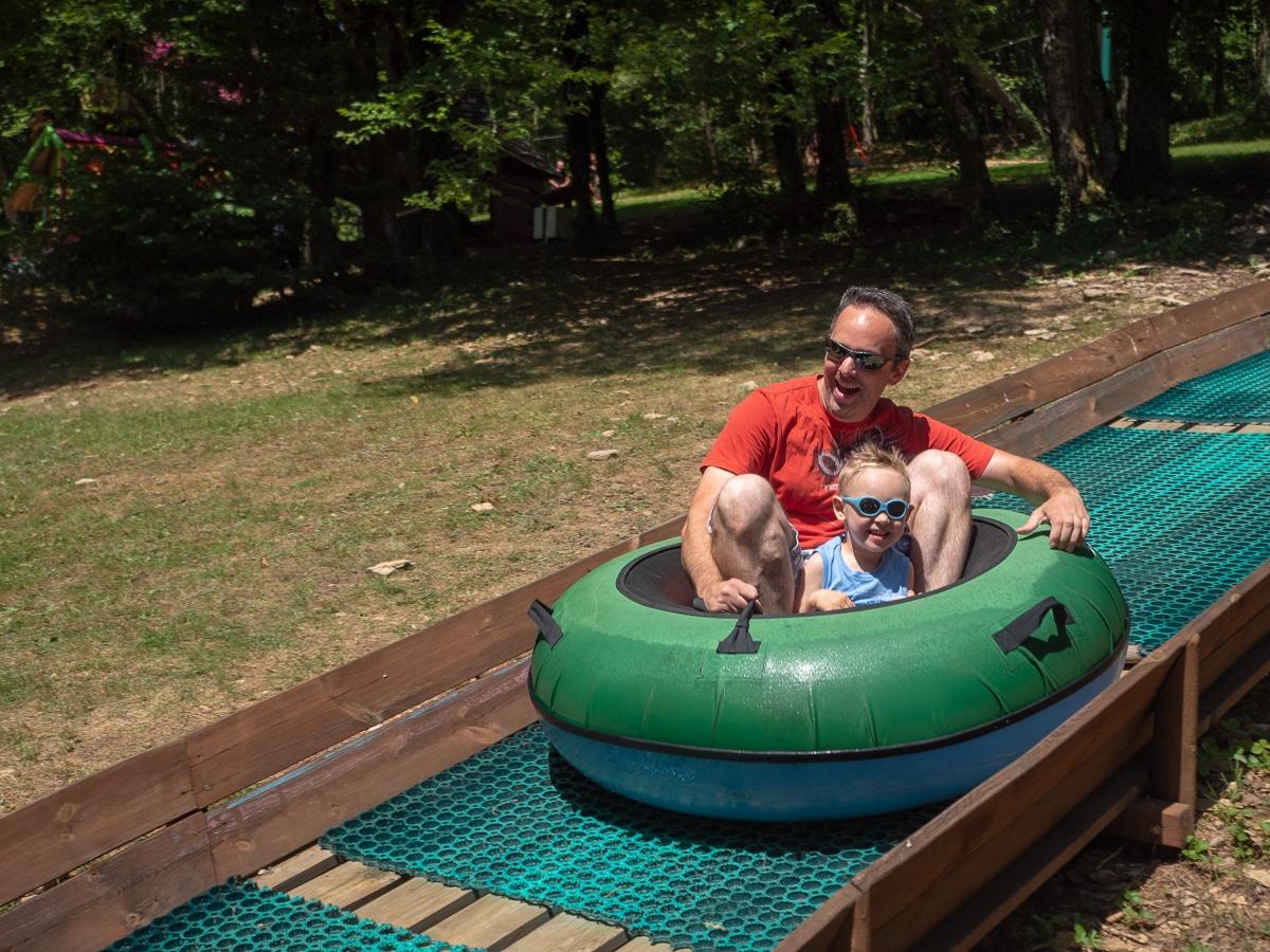 Que faire un entant de 3 ans : parc des Campaines