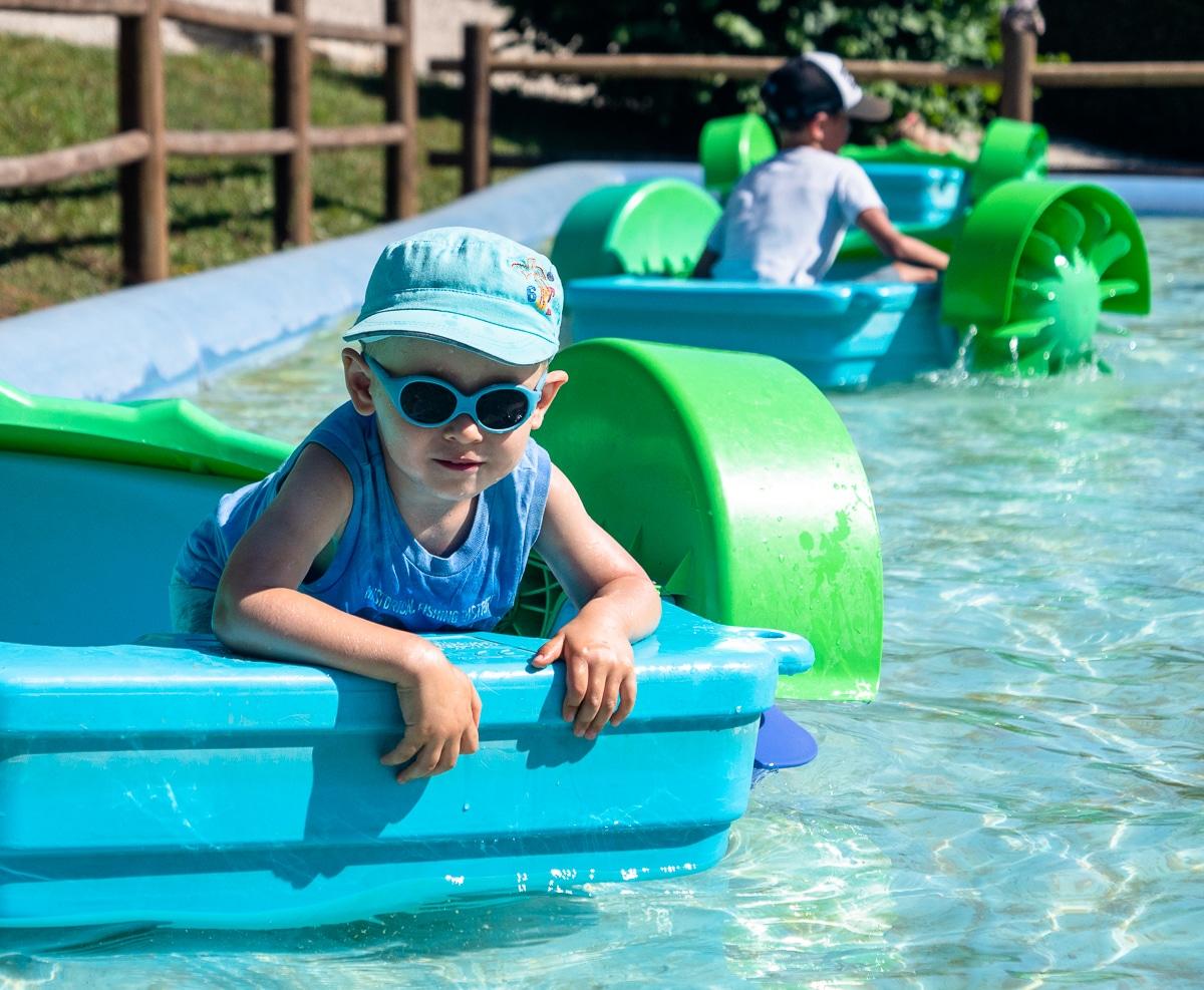 Activité famille : parc de loisirs de Campaines