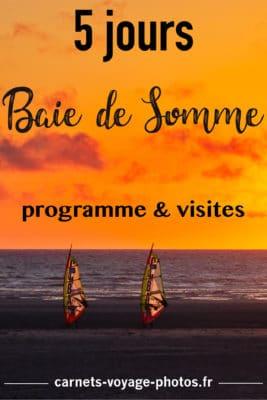 La Baie de Somme en famille