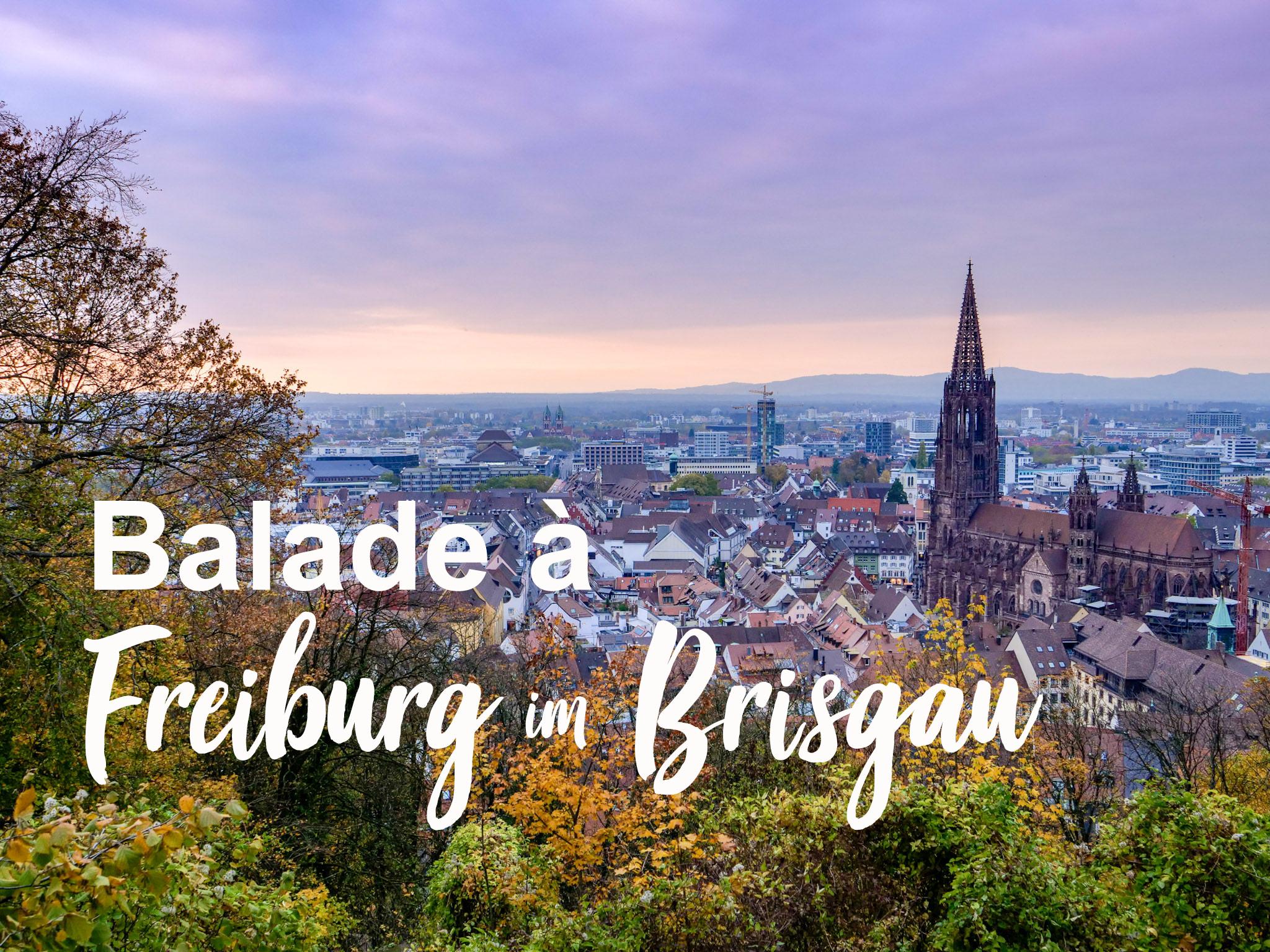 Visiter Freiburg im Brisgau : notre city guide