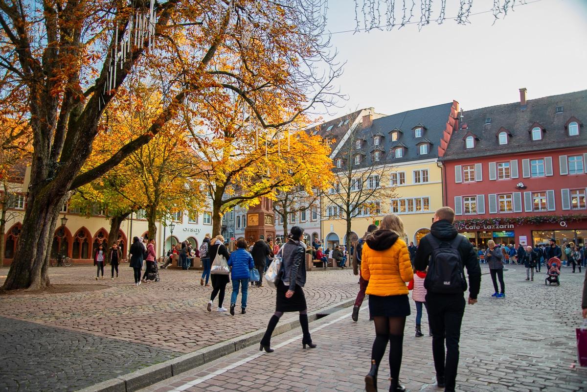 Vieille ville Freiburg Forêt Noire Allemagne