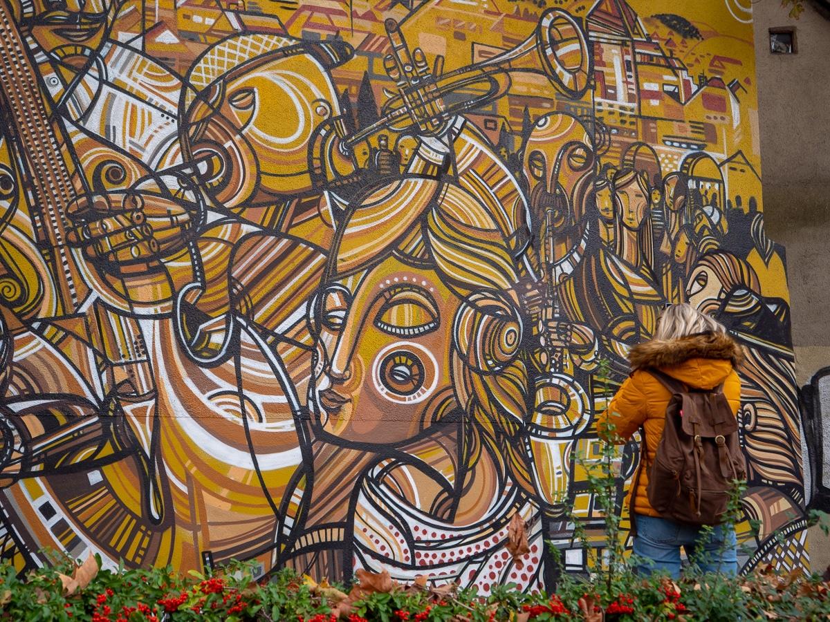 Street art Freiburg Forêt Noire Allemagne