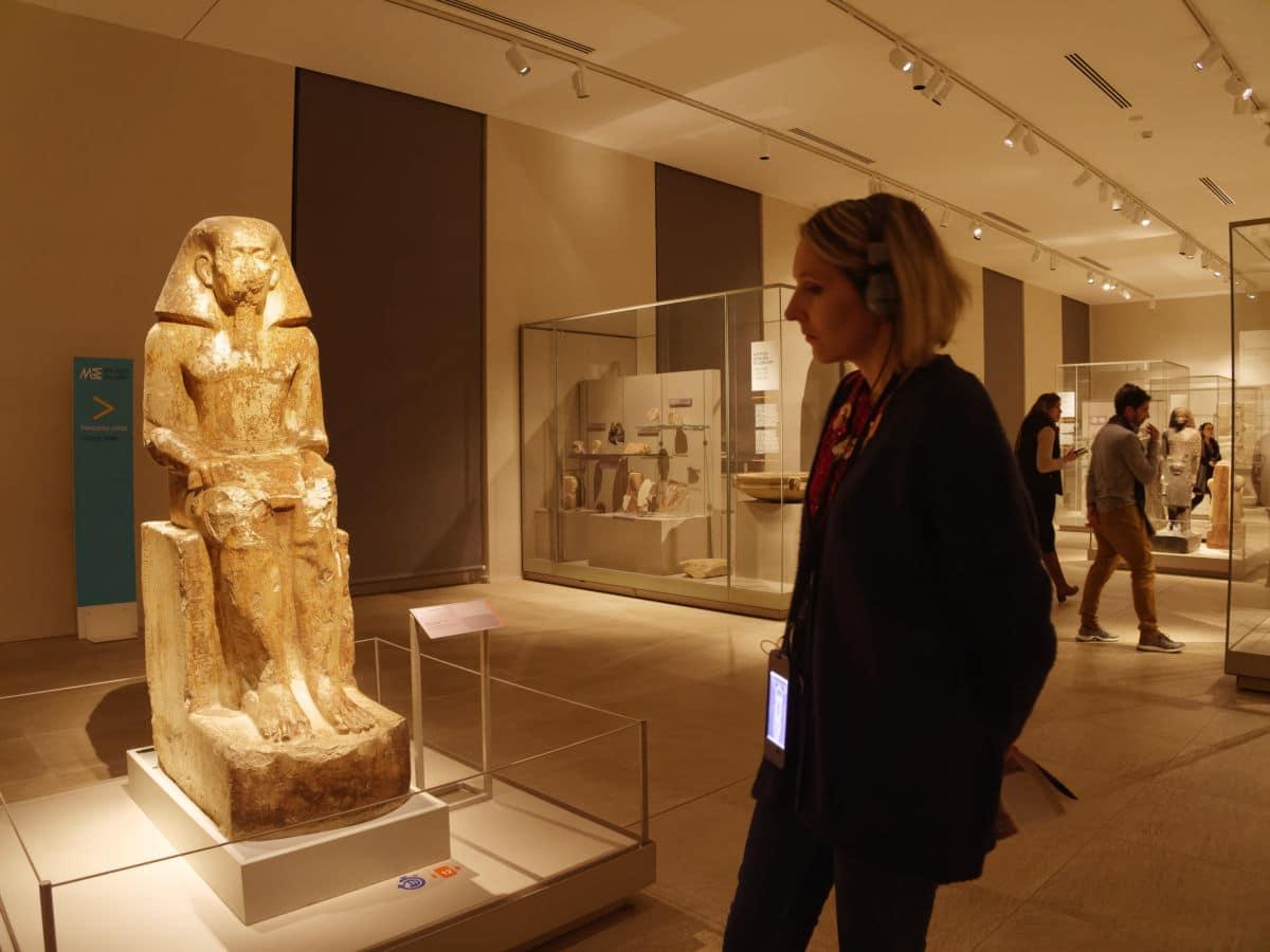 Visite du musée égyptien de Turin