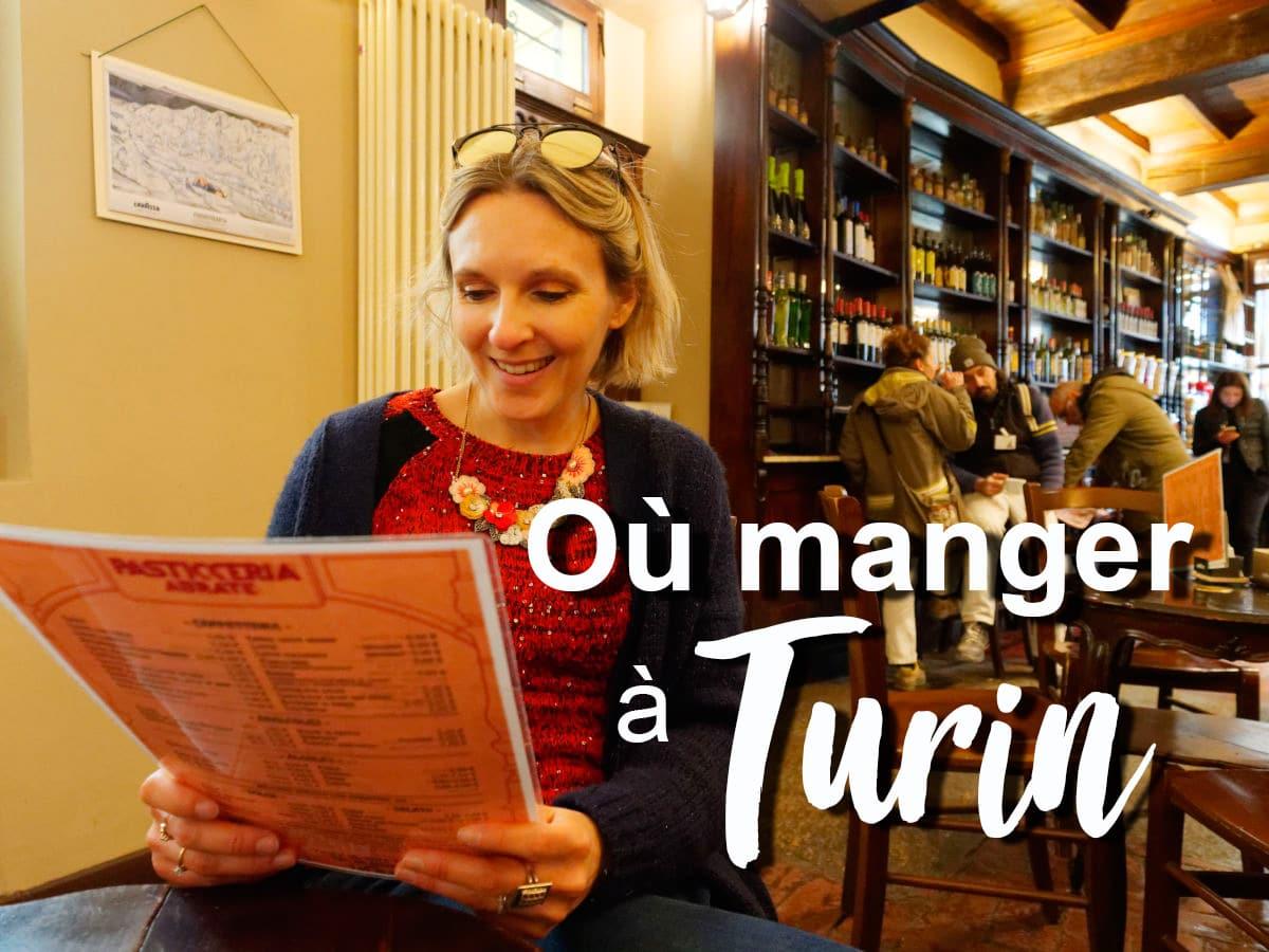 Où manger à Turin et faire du shopping