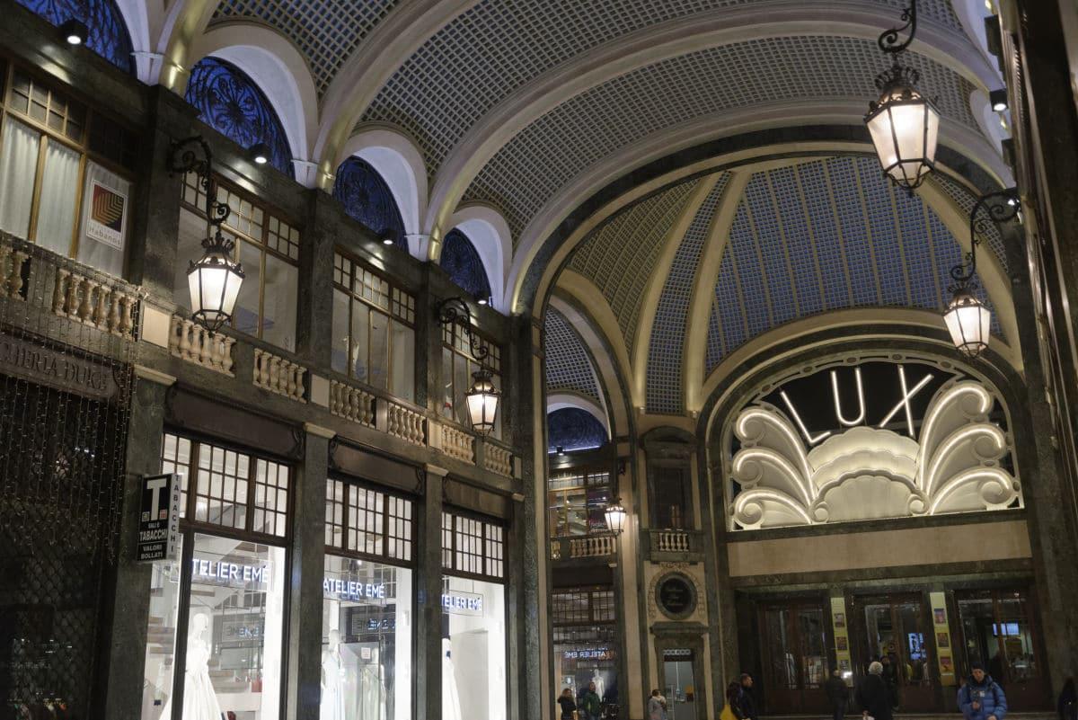 Galerie San Federico à Turin