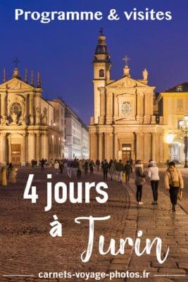 Programme et visites à Turin