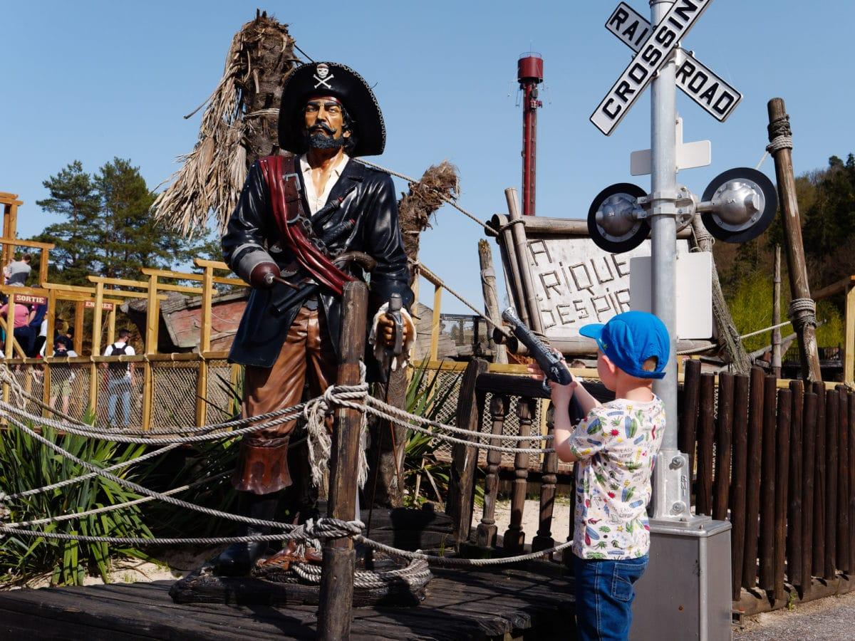 Visiter Fraispertuis city : les pirates