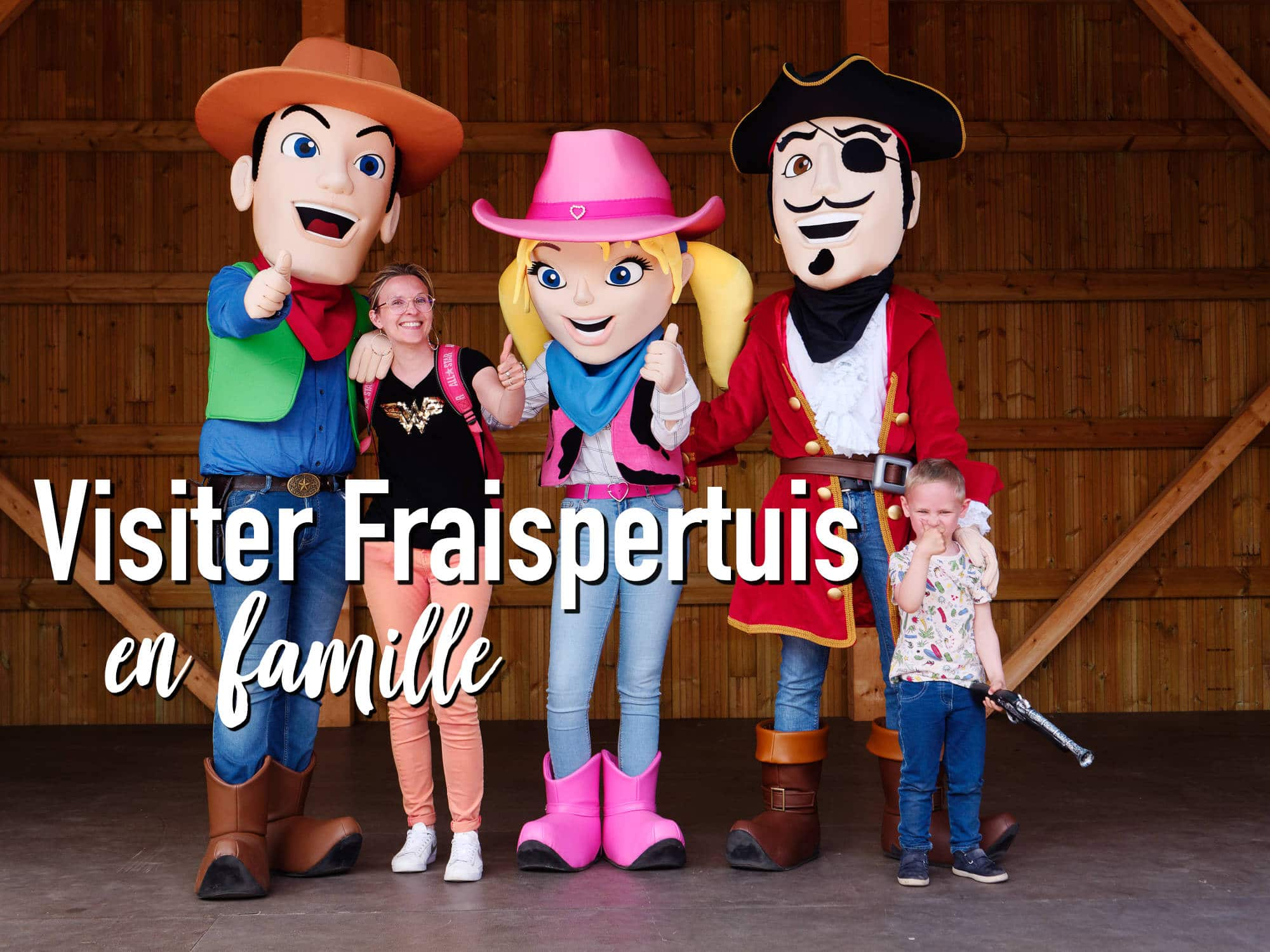 Que faire en famille : parc d'attraction Fraispertuis City