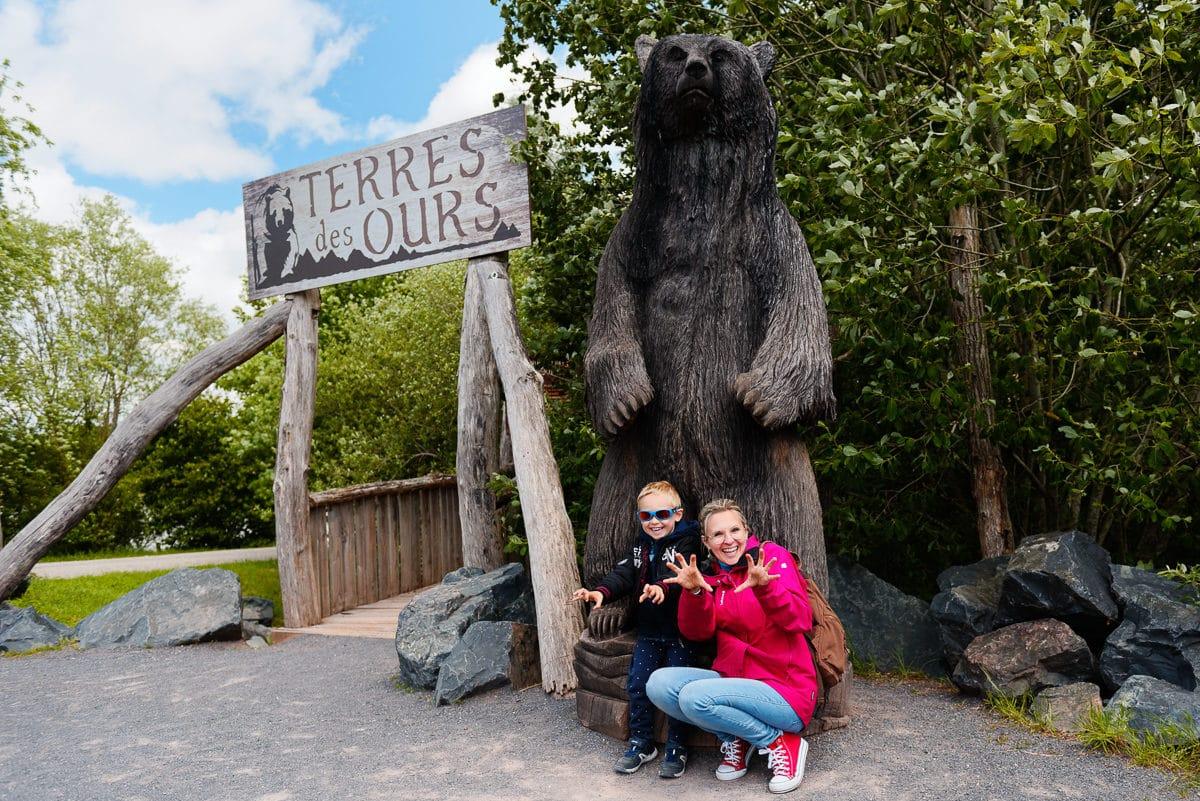 Terres des Ours au Parc de Sainte-Croix