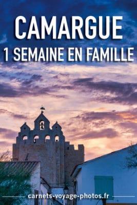 Vacances en Camargue en famille