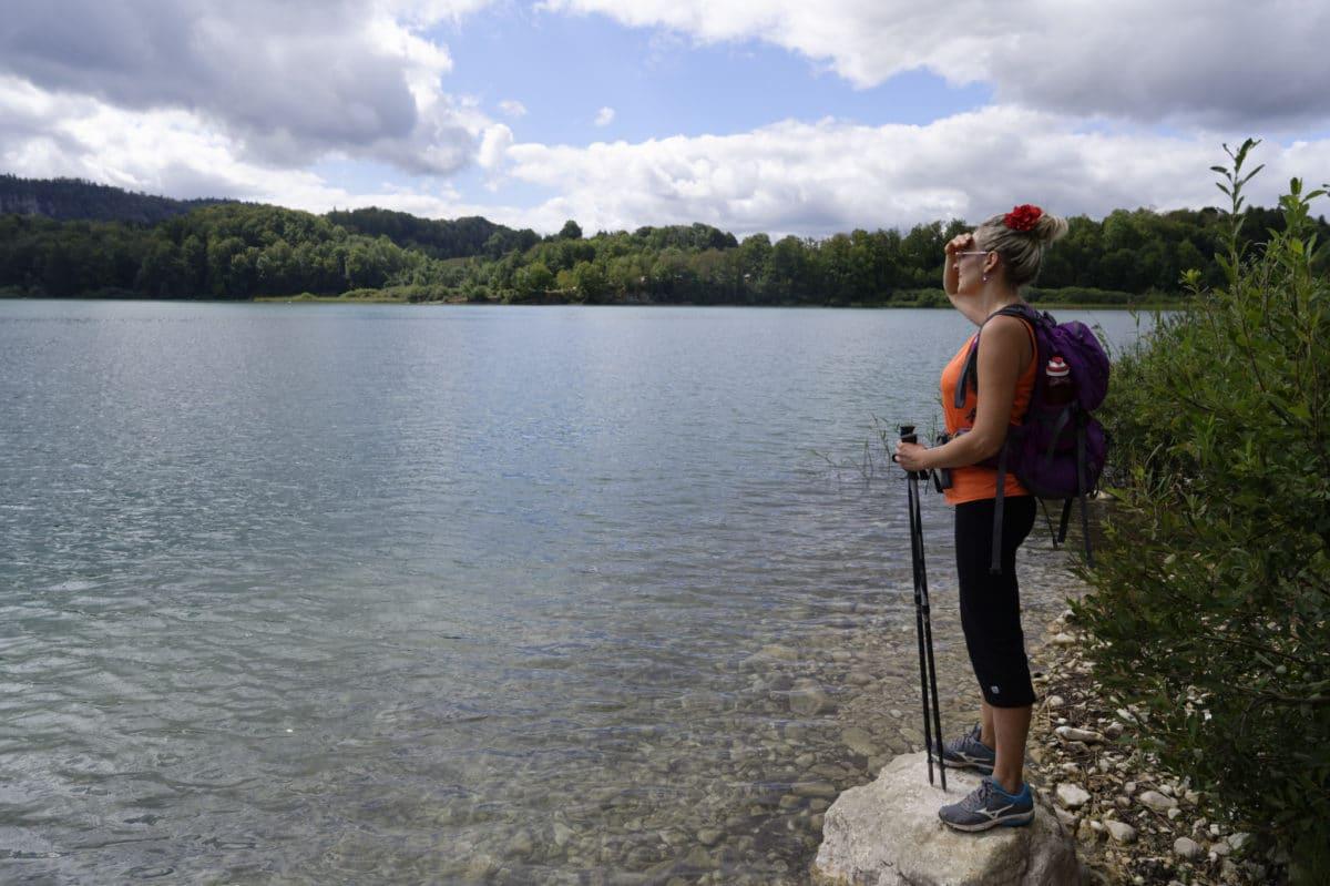 Randonnée Jura : lac de Narlay