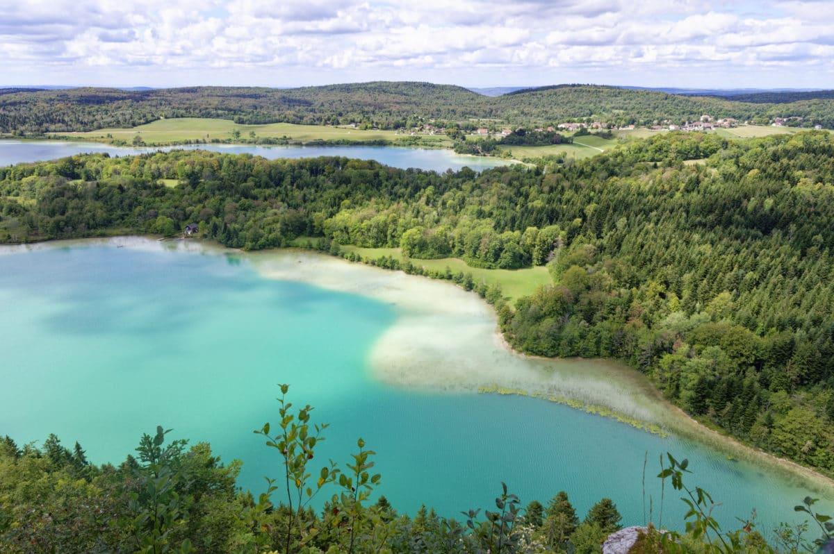Randonnée Jura : lac du Grand Maclu