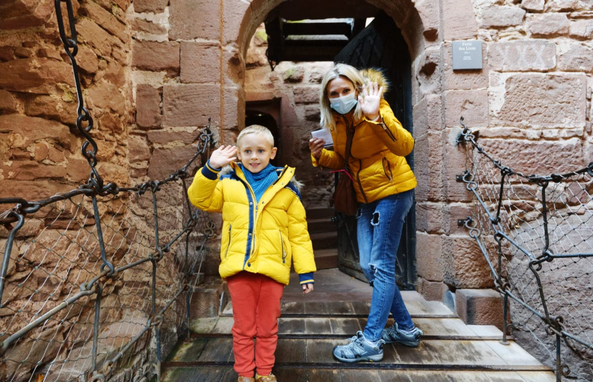 visite château en famille