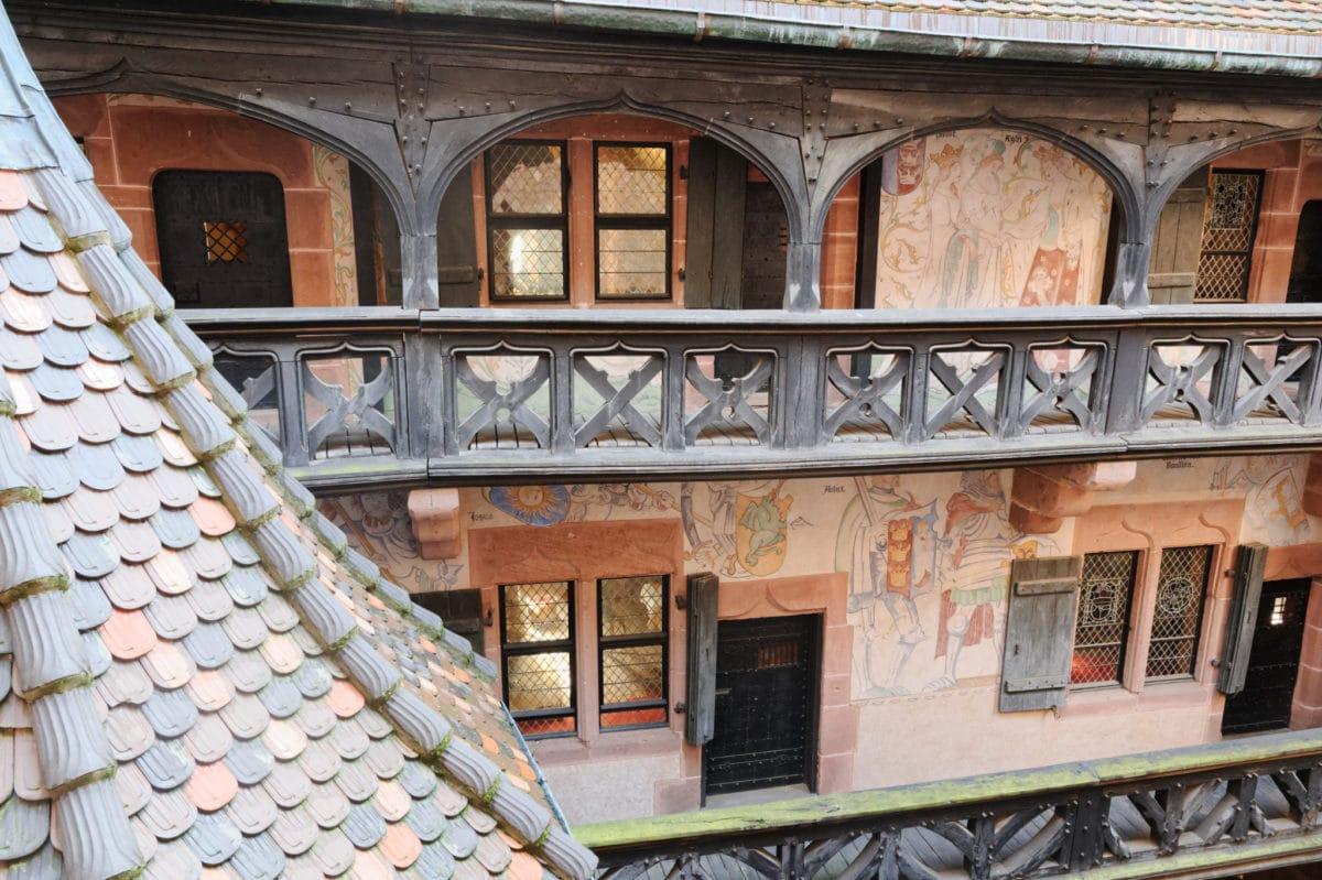 chateau haut-koenigsbourg moyen âge