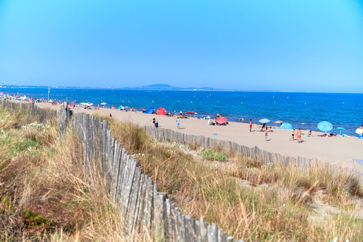 Sérignan plage