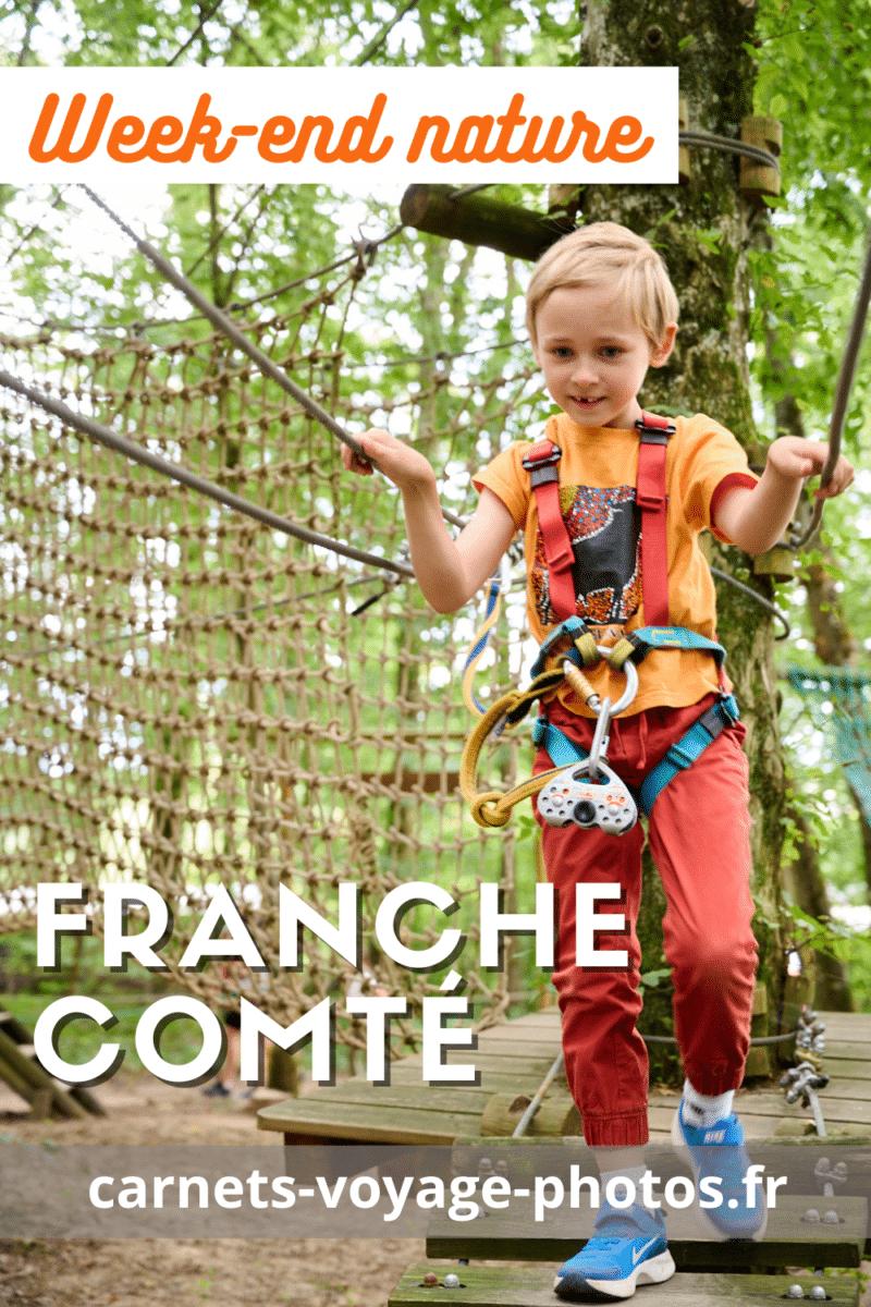 Accrobranche en Franche-Comté