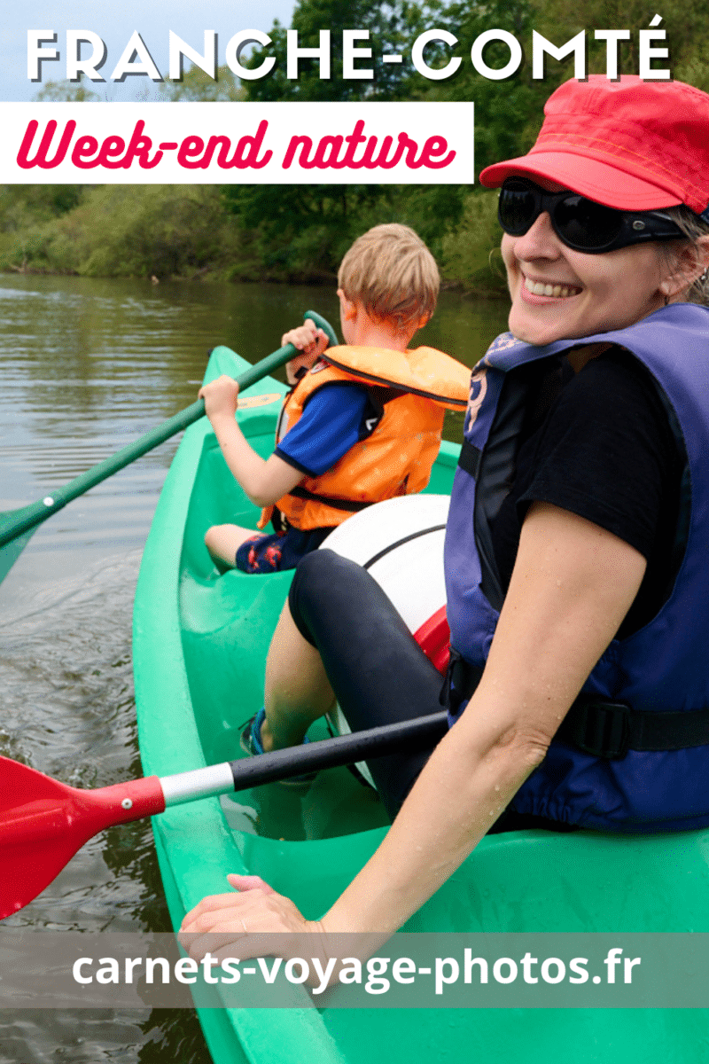 Canoe à Villersexel
