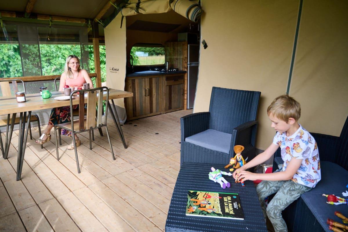 Camping lodge à Villersexel